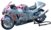 ruff ryder custom hayabusa 1300 JP CUSTOMS PAINT