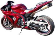 Yamaha R1 JP CustomS custom paint JDA Custom Billet Parts