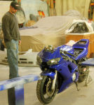 YAMAHA TRIBAL AIRBRUSHING YZF R6 JP CUSTOMS